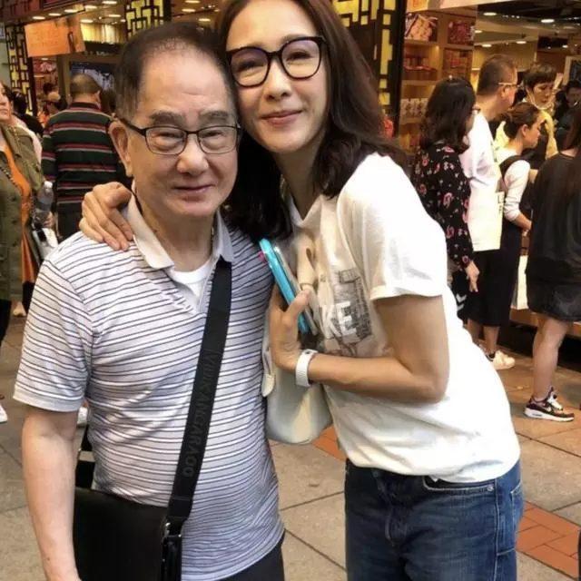 Lê Tư và bố của nữ diễn viên