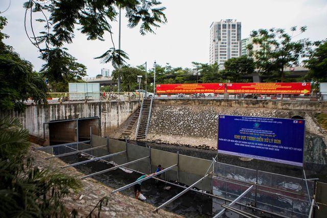 Thử nghiệm này bắt đầu sau 1 tháng thí điểm xử lý nước bằng công nghệ kể trên ở sông Tô Lịch.