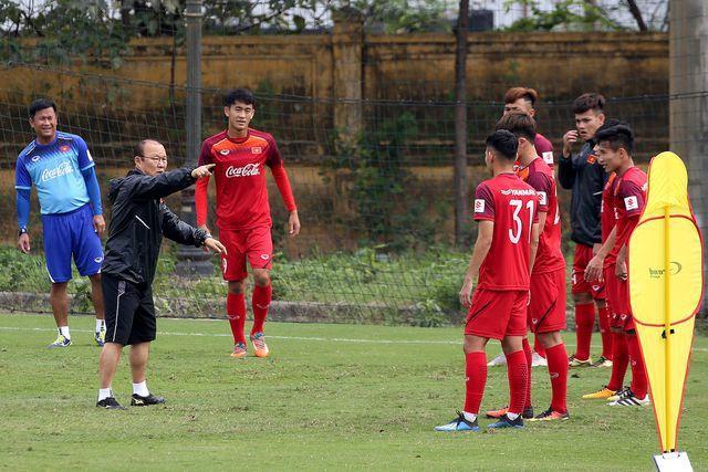 HLV Park Hang Seo đang lên phương án tốt nhất dành cho đội U23 Việt Nam.