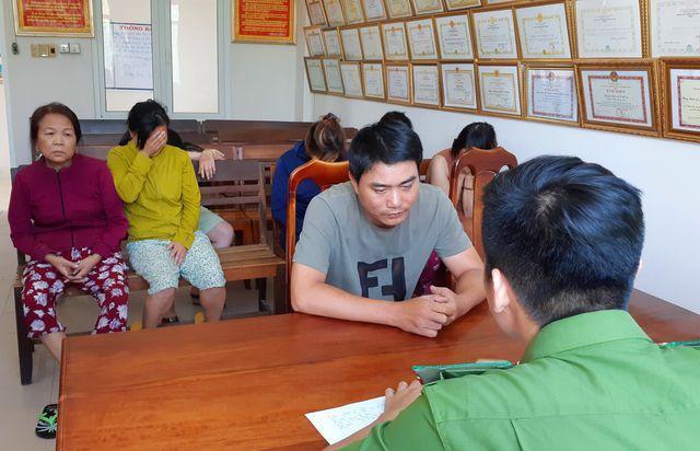 Triệt xóa 4 tụ điểm ghi lô đề ở Quảng Nam, tạm giữ hình sự 7 đối tượng. Ảnh: Dân Trí