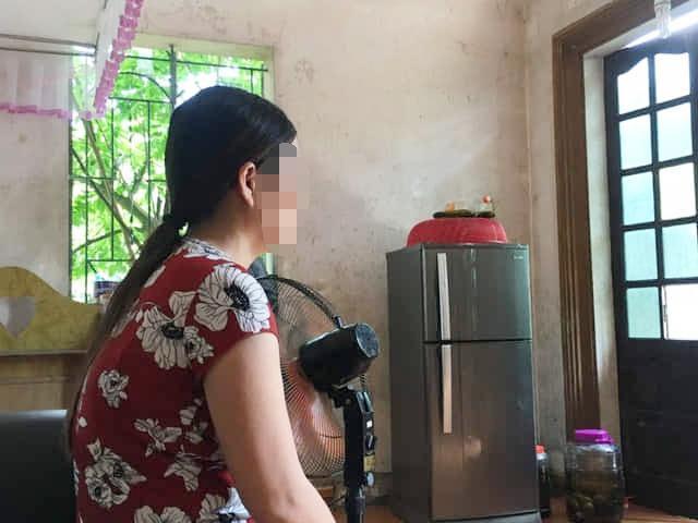 Bà Hà bần thần kể sau khi biết con mang bầu 5 tháng.