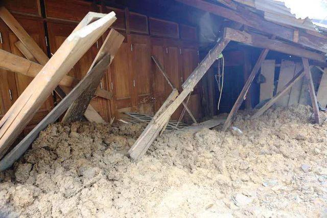 Trong đợt mưa lũ do ảnh hưởng của bão số 3, tại huyện Mường Lát cũng bị thiệt hại nặng nề.