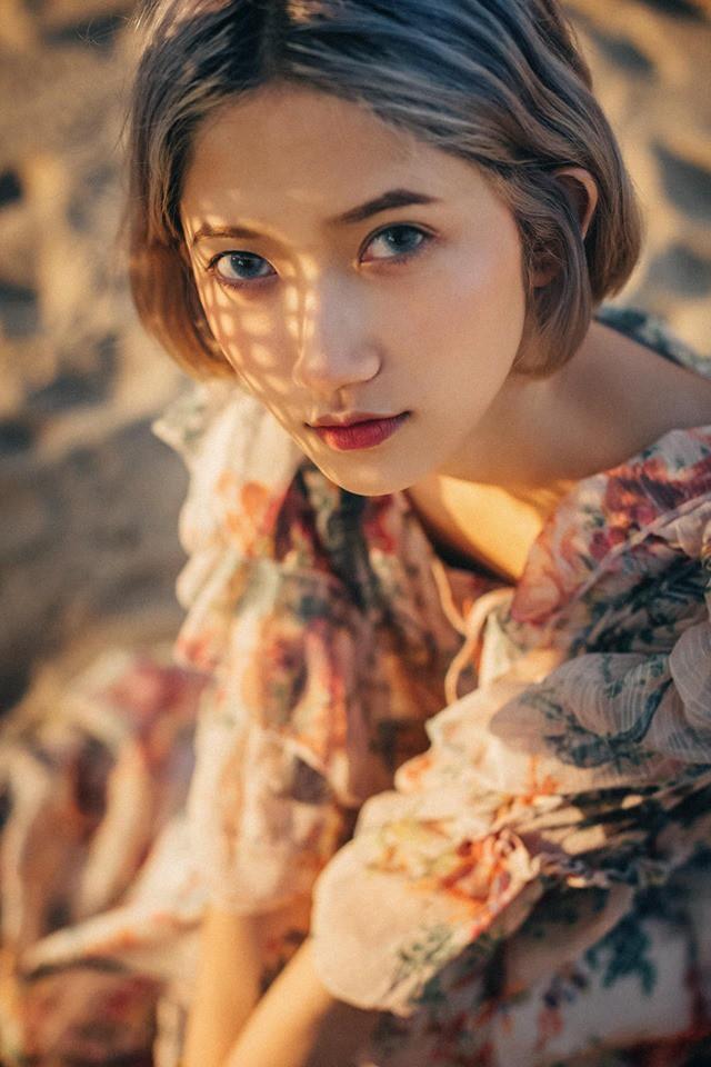 Sở hữu vóc dáng thanh mảnh, gương mặt khả ái, Mỹ Trâm được dân mạng khen ngợi giống với những hot girl Trung Quốc.
