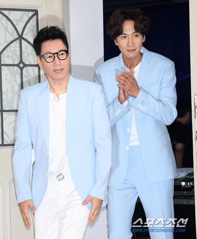 Ji Seok Jin và Lee Kwang Soo.