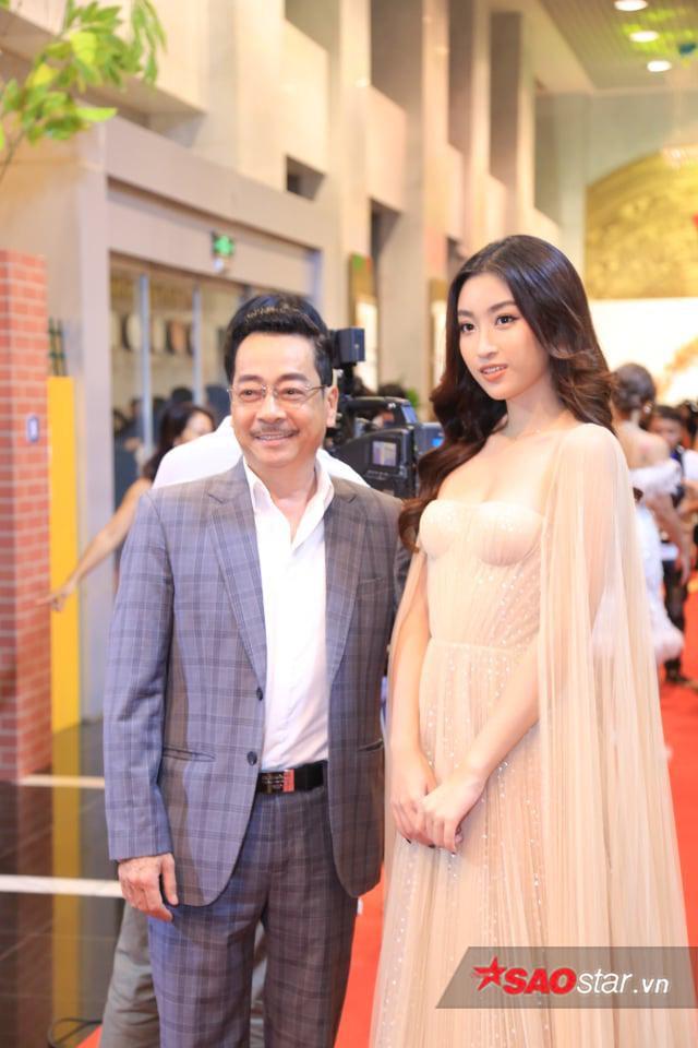 Hoa hậu Đỗ Mỹ Linh xinh đẹp, dịu dàng tại sự kiện.