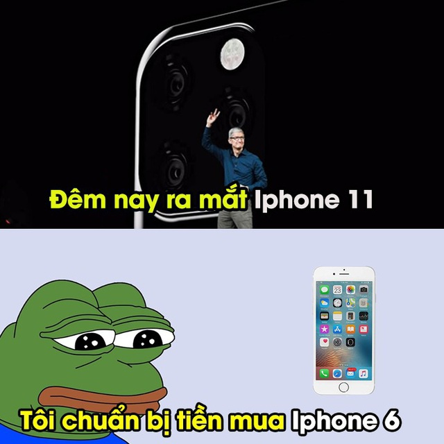 Có hai loại người: Người chê thiết kế của iPhone 11, người than thở vì không có tiền mua.