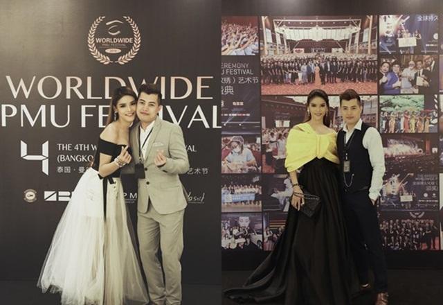 Cùng với diễn viên nổi tiếng Thái Lan và các chuyên gia quốc tế.