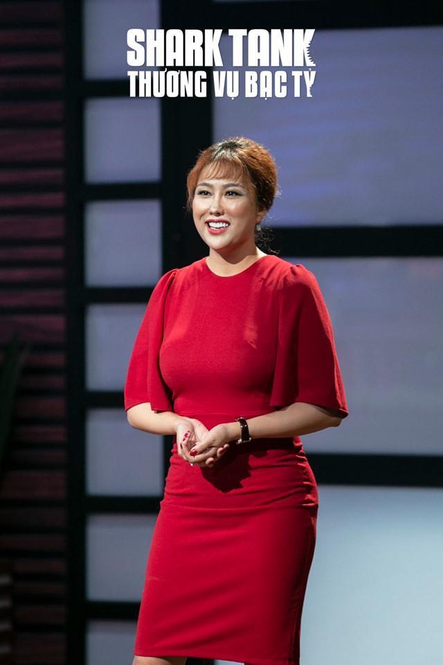 Phi Thanh Vân là một trong 5 người sáng lập của dự án. (Ảnh: Shark Tank)