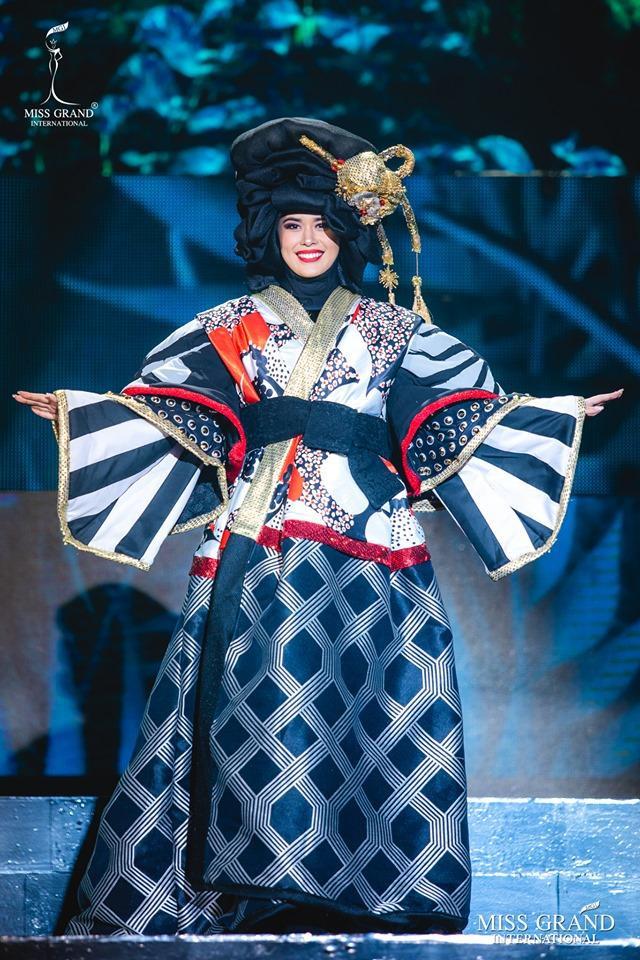 Thiết kế của Hoa hậu Hòa bình Nhật Bản có nguy cơ chiến thắng năm nay.