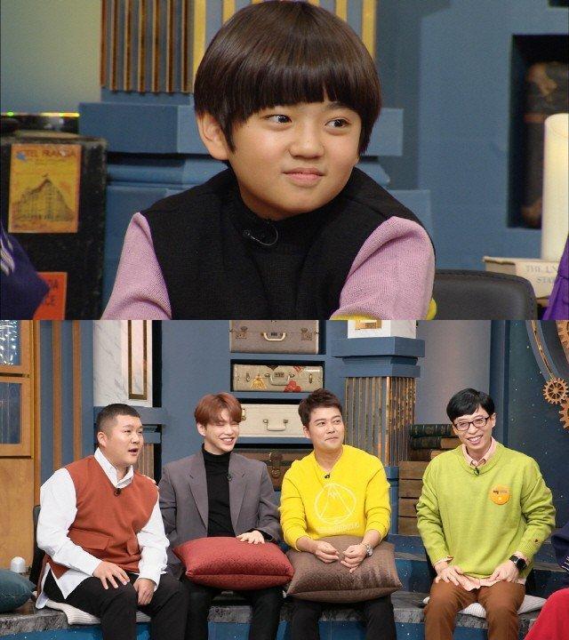 Con trai 10 tuổi của Gong Hyo Jin là fan Kang Daniel từ Produce 101, thú nhận có người yêu giống Irene (Red Velvet) ảnh 5