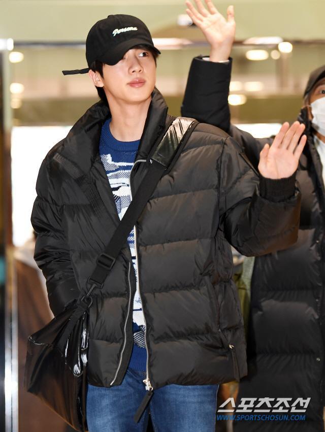 Jin của BTS.