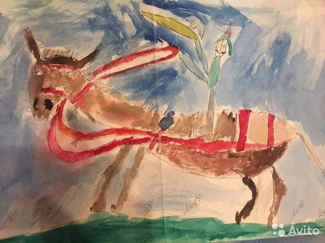 Bức tranh năm 6 tuổi của Vladimir Mkrtchyan.