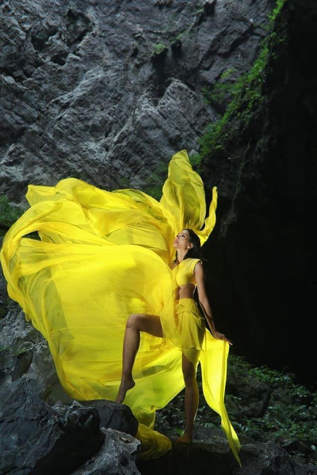HHen Niê đẹp tinh khôi khi diện áo dài giữa hang Sơn Đoòng, không chỉ đẹp mà còn đầy ý nghĩa ảnh 6