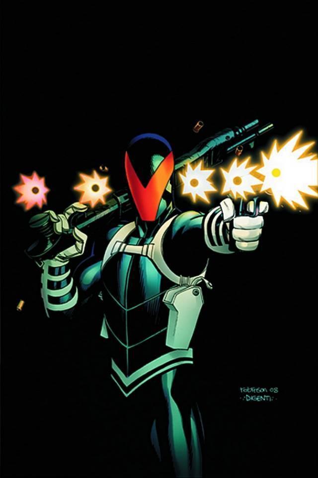 Vigilante là một cao thủ dùng súng trong DC Comics