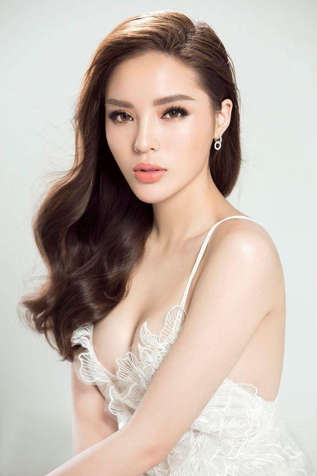 Hoa hậu Kỳ Duyên – nhan sắc bị lãng quên nhiều nămtrong dàn hoa hậu, á hậu Việt đi chinh chiến quốc tế.