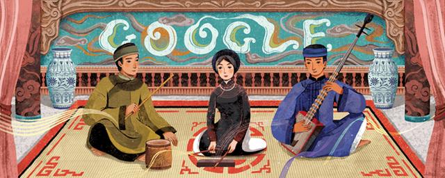 Ca trù Việt Nam cũng từng được Google tôn vinh trước đó