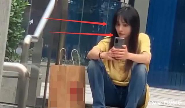 Vẻ đẹp thực sự của Trịnh Sảng dưới ống kính của người qua đường khi ngồi ngoài lề đường chụp ảnh selfie ảnh 6