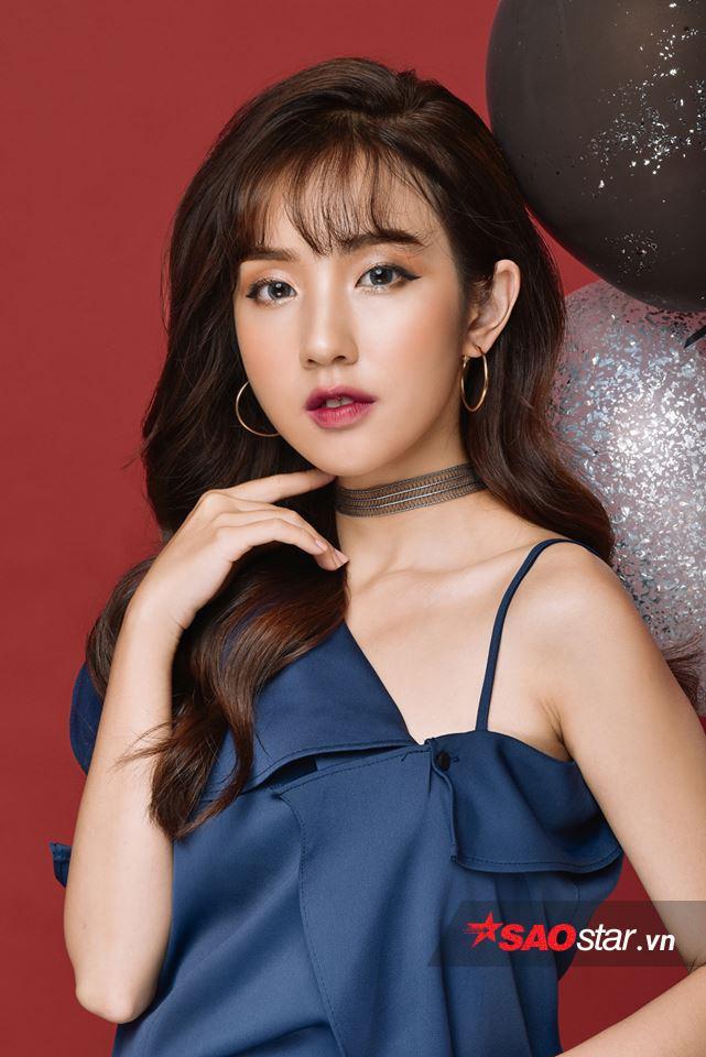 Vẻ đẹp đậm chất Hàn Quốc của Khánh Hà thu hút nhiều sự yêu mến của giới trẻ