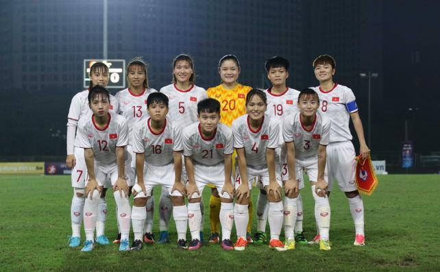 U19 nữ Việt Nam bước vào lượt trận cuối cùng vòng loại U19 nữ châu Á 2019. Ảnh: VFF