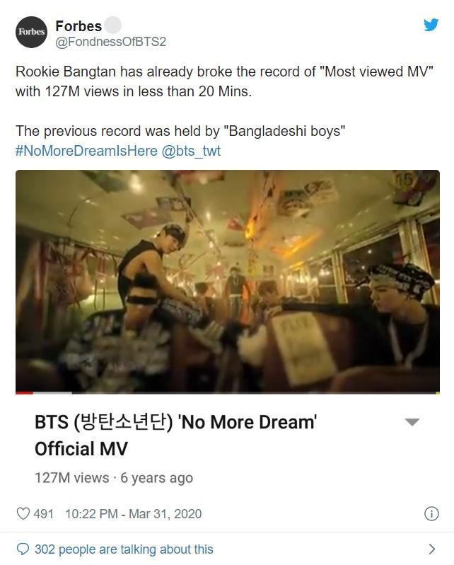 Trò đùa Cá tháng Tư oái oăm của ARMY: BTS lọt top trending Twitter với ca khúc debut No More Dream ảnh 2