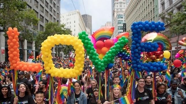 Diễu hành Tự hào tại San Fracisco, Nguồn ảnh: GETTY IMAGES