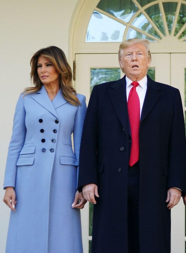 Bà Melania và chồng chia nhau hai tầng lầu trong Nhà Trắng.