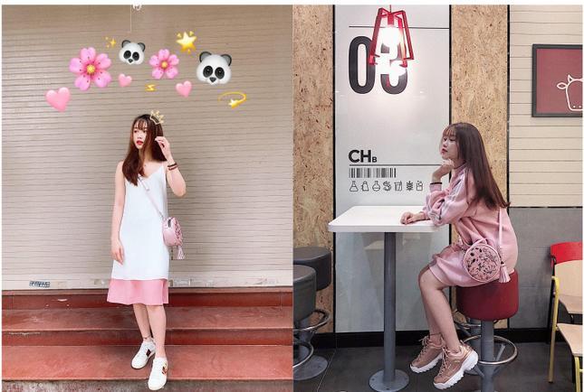 Các trang phục trước đây của Trang Nhung đa số đều là các mẫu đầm, váy, theo phong cách bánh bèo, công chúa.