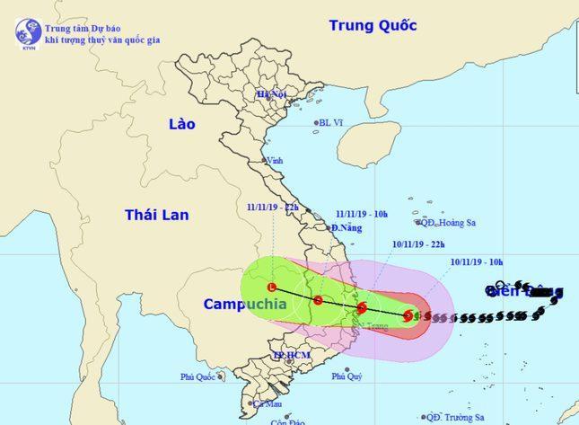 Bão số 6 suy yếu thành ấp thấp nhiệt đới, Miền Trung mưa lớn nguy cơ gây lũ quét sạt lở ảnh 0