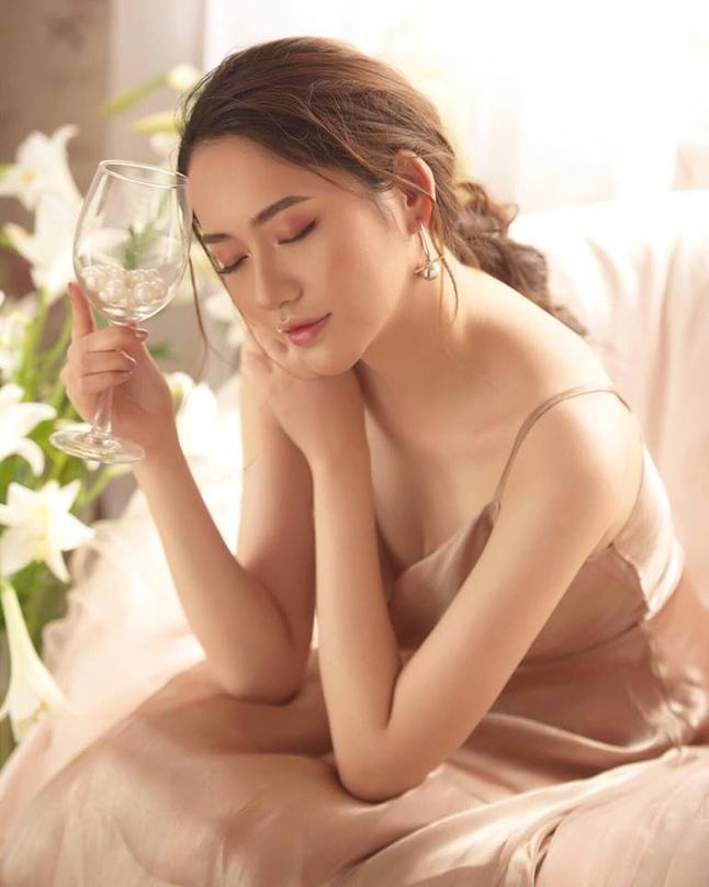 Chia tay Thanh Bình nhưng người đẹp này vẫn không quên gửi lời chúc tốt đẹp nhất.