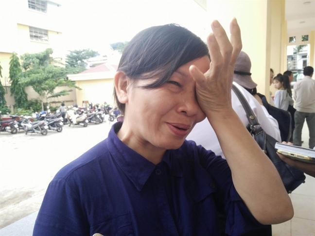 Bà Lộc - mẹ nữ sinh Thu Hương.