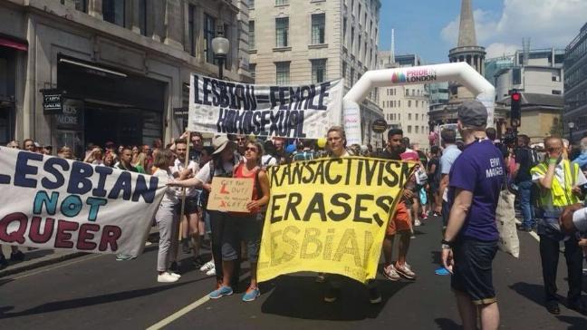 Câu chuyện hy hữu: Người đồng tính biểu tình chống người chuyển giới ảnh 2