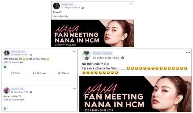 Hàng loạt cảm thán của fans cuồng NANA tại Việt Nam trước thông tin này.