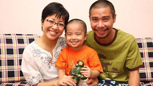 Gia đình Thảo Vân thuở còn hạnh phúc