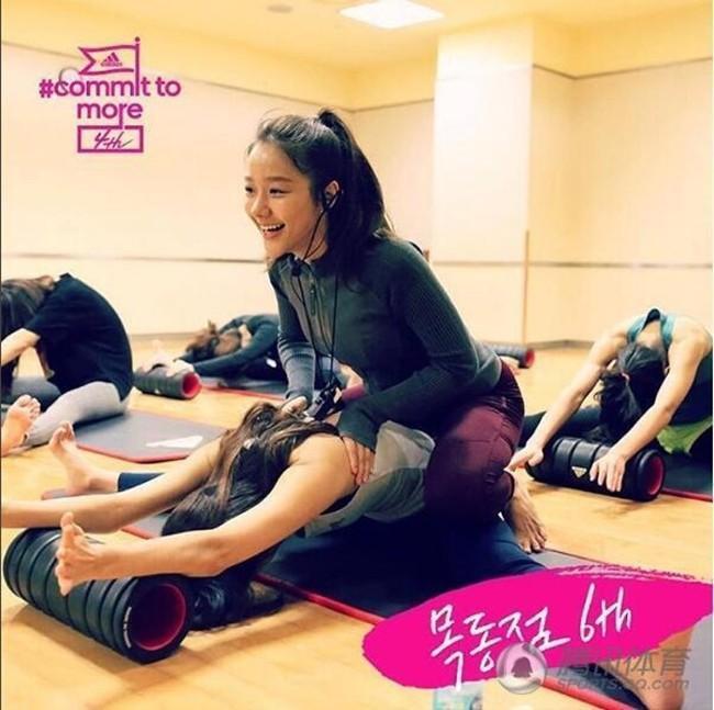 Những bài tập của Min Kyung luôn nhận được sự quan tâm rất lớn từ các cô gái trẻ.