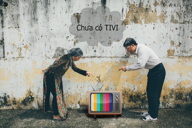 Ông bà anh yêu nhau thời chưa có ti vi!