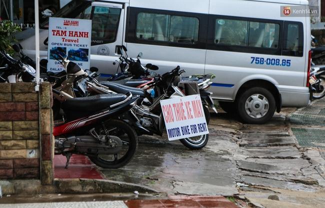 Dịch vụ cho thuê xe máy cũng tăng giá rất cao trong dịp lễ lần này.