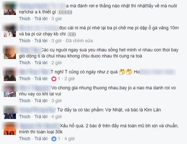 Những bình luận đáng yêu của nhiều người khi xem xong câu chuyện trên. (Ảnh: Facebook)