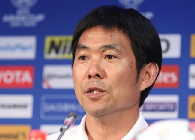 HLV trưởng Hajime Moriyasu của ĐT Nhật Bản