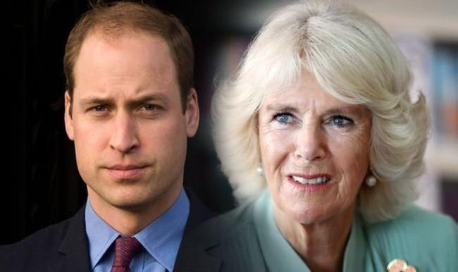 Hoàng tử William đến giờ vẫn không chấp nhận mẹ kế Camilla.
