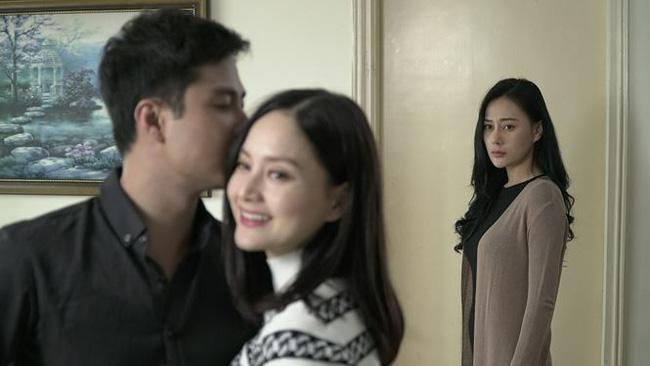 """""""Quỳnh búp bê"""" Phương Oanh có vai diễn nhạt nhòa trong """"Nàng dâu order""""."""