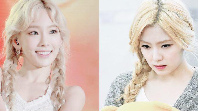 Cả hai cũng thường xuyên sử dụng kiểu tóc giống nhau.