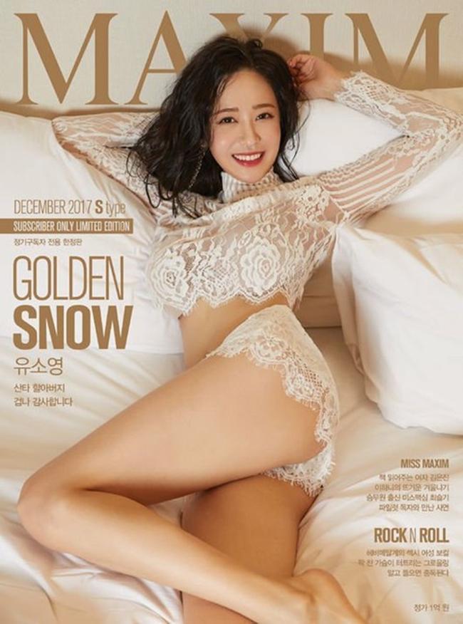 Hiện Yoo So-young đang trở thành người mẫu cho một số tạp chí nổi tiếng ở Hàn Quốc.