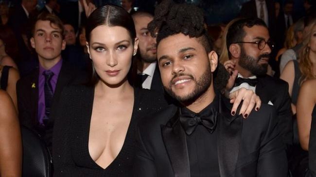 Cặp đôi yêu nhau vào năm 2015, trước khi chia tay lần đầu vào tháng 11/2016. Đầu 2017, The Weeknd có mối tình ngắn với Selena Gomez sau khi cô chia tay Justin Bieber nhưng chỉ kéo dài 10 tháng.