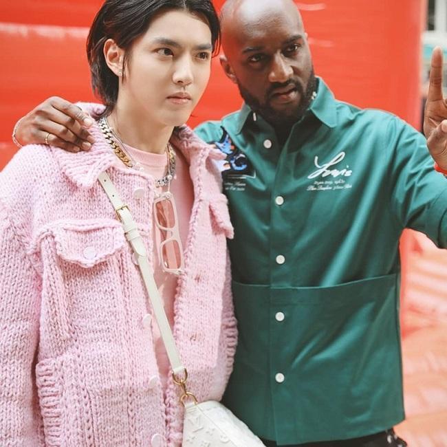Ngô Diệc Phàm còn là gương mặt đại diện thương hiệu toàn cầu khu vực Châu Á của Louis Vuitton kể từ cuối năm 2018, trước đó anh từng xuất hiện tại show diễn Louis Vuitton Xuân Hè 2020 trong vai trò khách mời với set đồ nguyên cây màu hồng pastel bên cạnh NTK Virgil Abloh phụ trách mảng thời trang nam của Louis Vuitton.