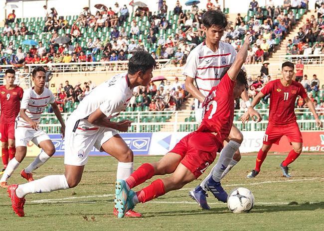 U18 Việt Nam thua tâm phục khẩu phục Campuchia.