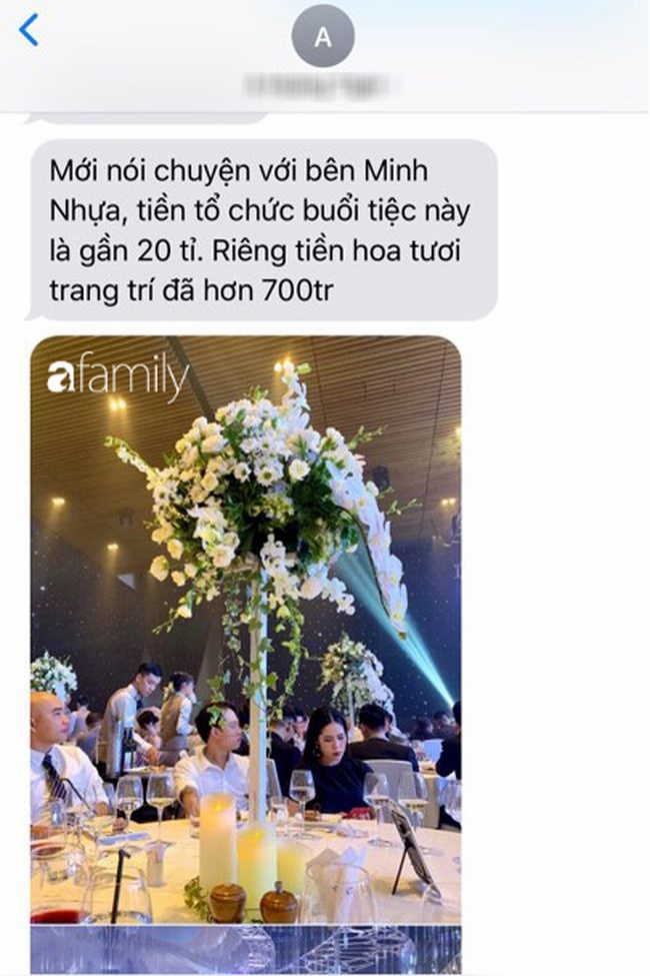 Đám cưới của con gái đại gia Minh Nhựa đã thu hút sự chú ý của truyền thông lẫn dư luận về độ sang chảnh và xa hoa bậc nhất giới thượng lưu. (Ảnh: Afamily)