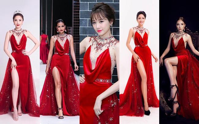 Nóng mắt với pha đụng hàng váy áo lịch sử đẹp bất phân thắng bại của dàn mỹ nhân Việt ảnh 13