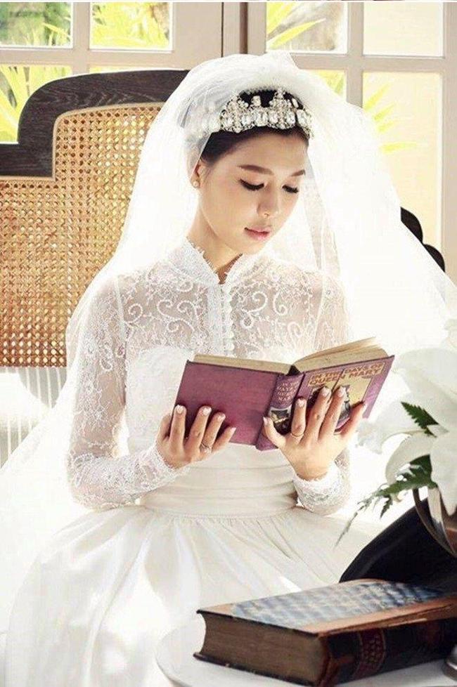 Vẻ đẹp hiền dịu, ngọt ngào của vợ MC Quang Minh