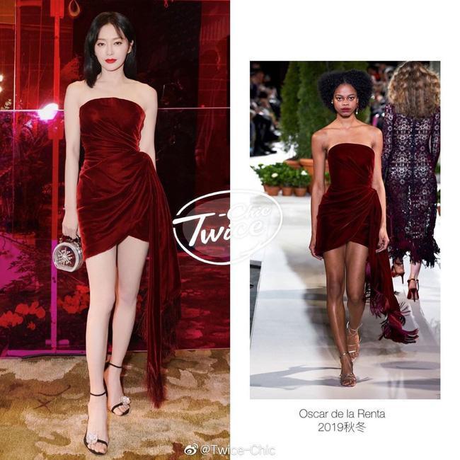 """Bộ váy của mỹ nhân """"Diên Hi Công Lược"""" thuộc thương hiệu Oscar de la Renta"""