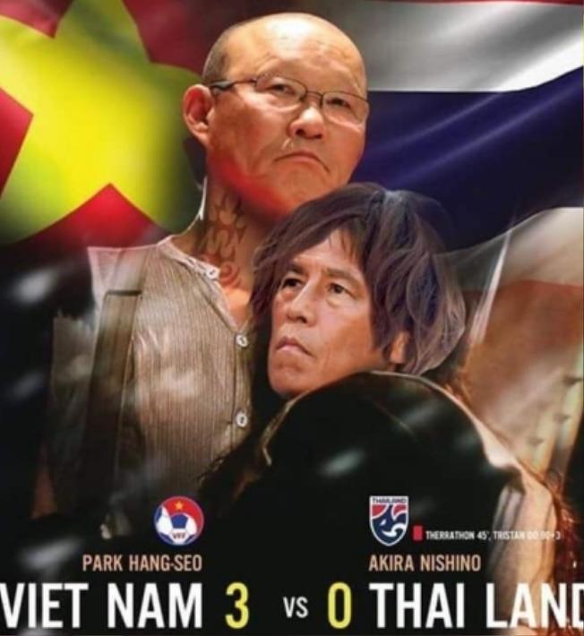 Fan dự đoán Việt Nam sẽ đè bẹp Thái Lan với tỉ số 3-0.